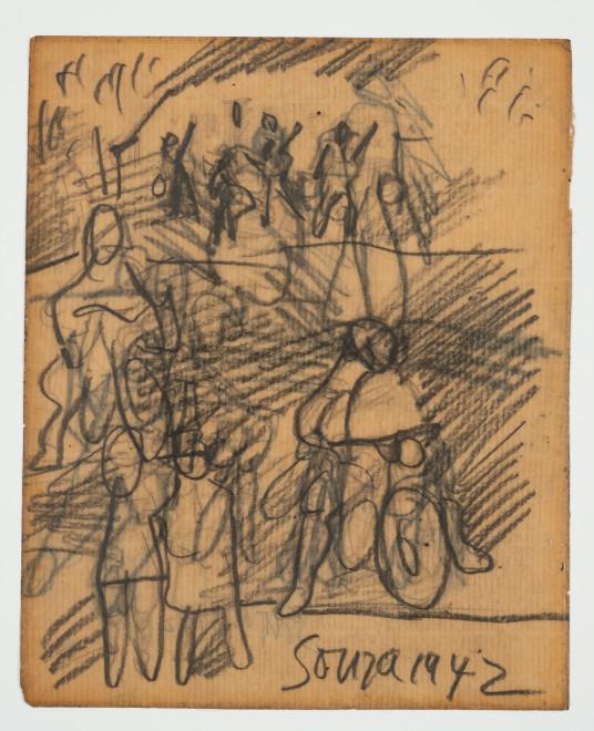 Francis Newton Souza, Untitled recto ; Untitled verso, 1942