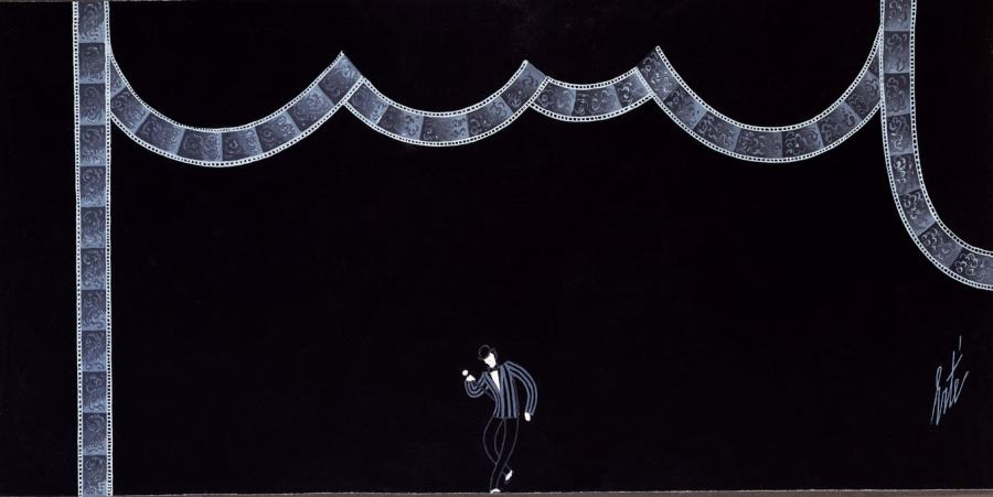 Romain de Tirtoff dit Erté, Stage set, Ragtime (From Stravinsky to Gershwin), 1975
