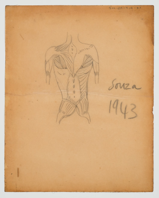 Francis Newton Souza, Untitled, 1943
