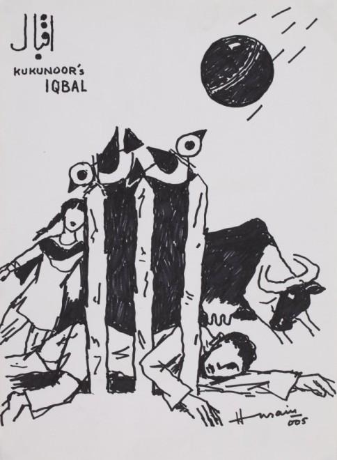 Maqbool Fida Husain, Kukunoor's Iqbal, 2005