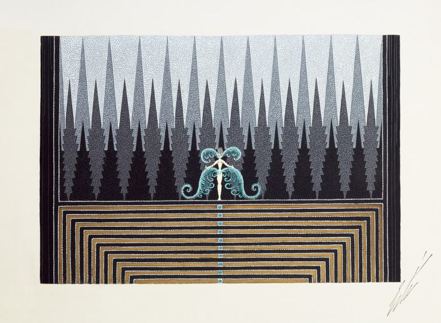 Romain de Tirtoff dit Erté, Stage set for finale, 1927