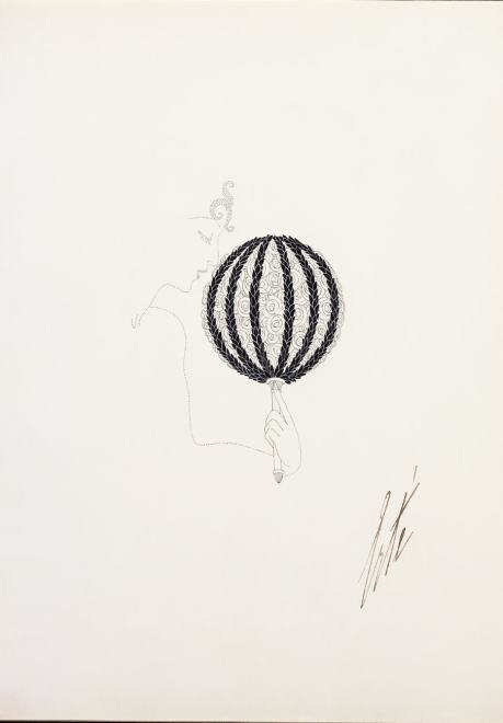 Romain de Tirtoff dit Erté, Wedding Bouquet, 1920