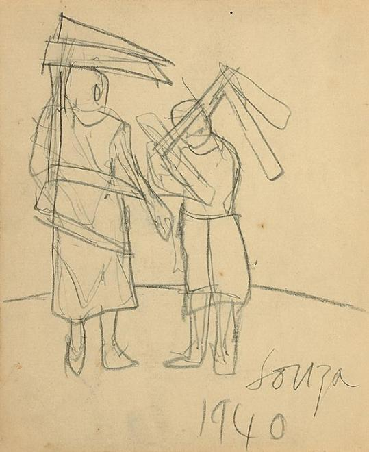Francis Newton Souza, Untitled, 1940