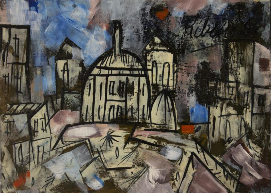 Untitled (Landscape with Domes)