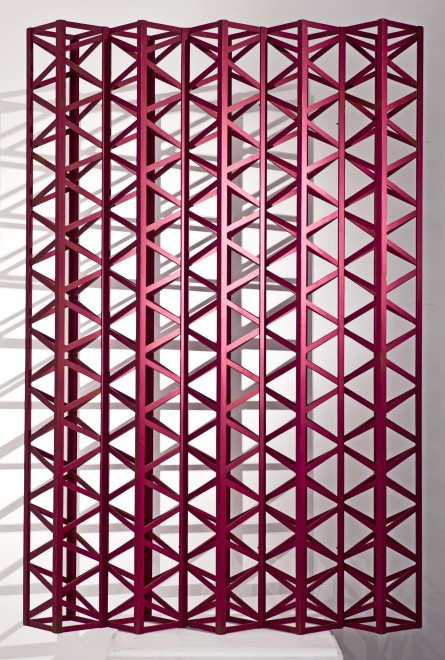 Rasheed Araeen, Burgundy Dark, 1971