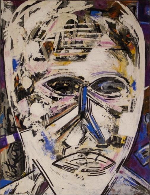 Lancelot Ribeiro, White Face, 1964