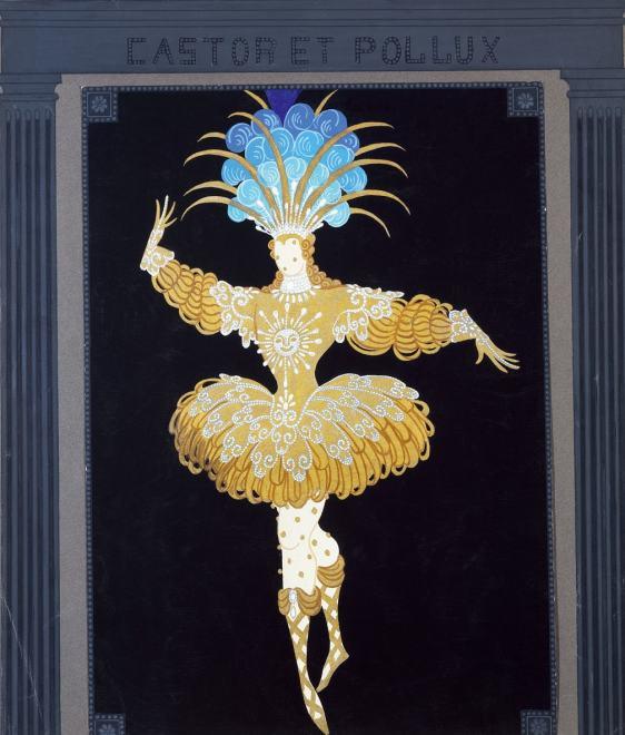 Romain de Tirtoff dit Erté, Costume, 1961