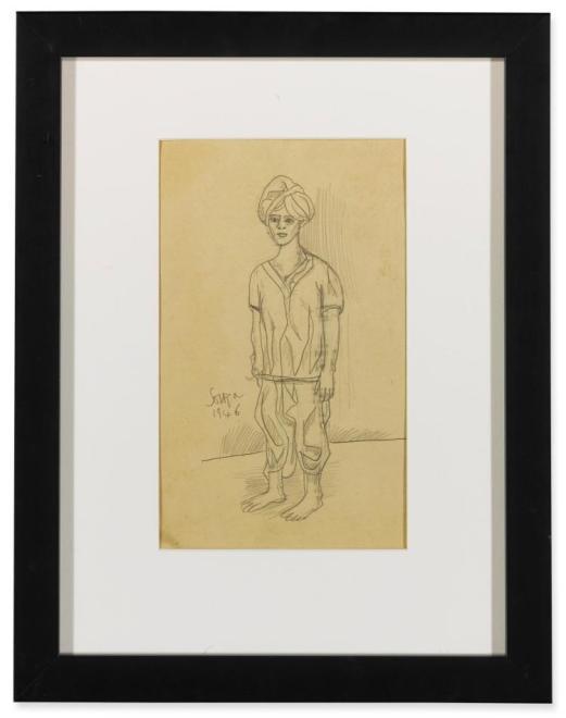 Francis Newton Souza, Untitled, 1946