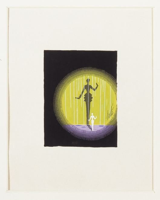Romain de Tirtoff dit Erté, Maquette for Harper's Bazaar covers, 1936