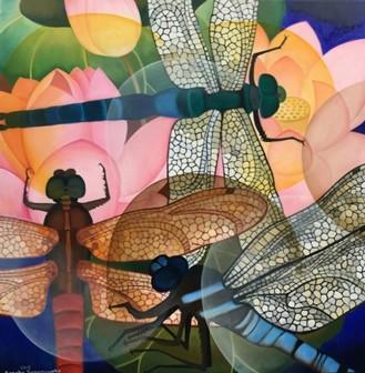 Senaka Senanayake, Dragonflies, 2015