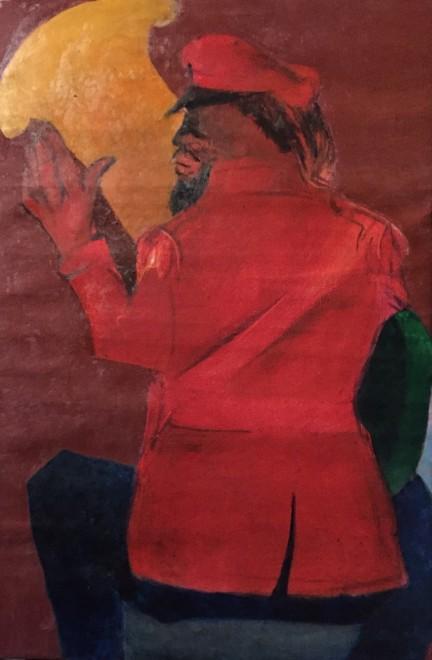 Krishen Khanna, Bandwalla with Trumpet, 2018