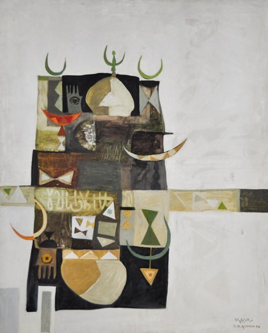 Dia Azzawi, Islamic Compositions, 1966