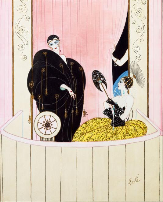 Romain de Tirtoff dit Erté, Loge de Theatre, 1912