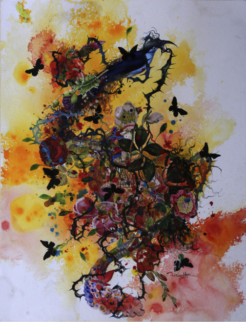 Priyantha Udagedara, Garden of Earthly Delight VII, 2016