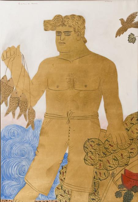 Alekos Fassianos, Le Pecheur de Myconos