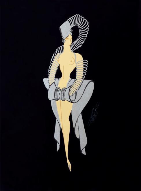 Romain de Tirtoff dit Erté, Metal Spring Costume
