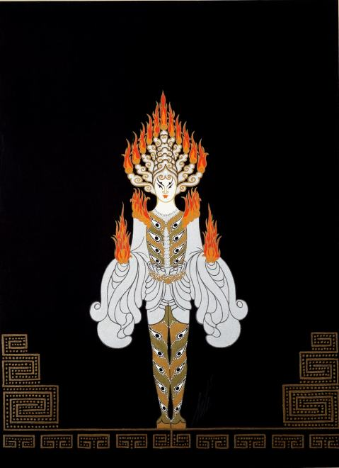 Romain de Tirtoff dit Erté, Genie of the Lamp, 1929