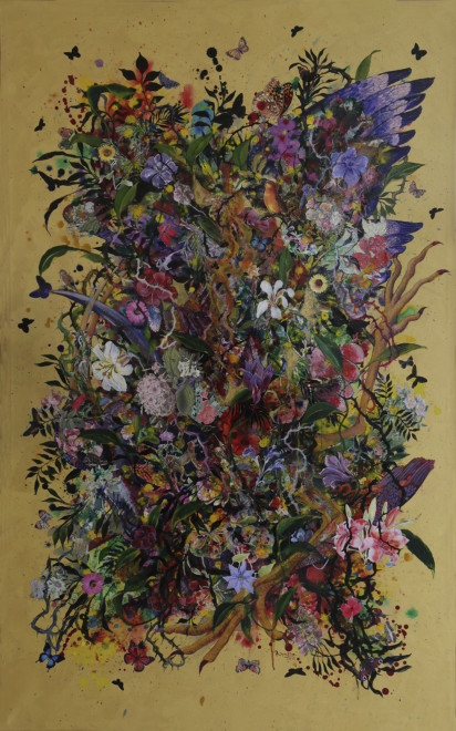 Priyantha Udagedara, Garden of Earthly Delight II, 2016
