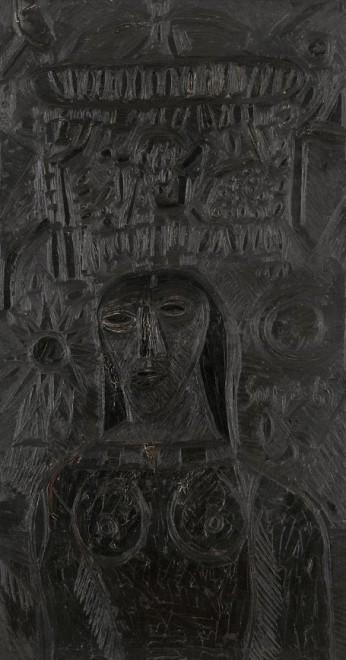 Francis Newton Souza, Mystic Ebony, 1965