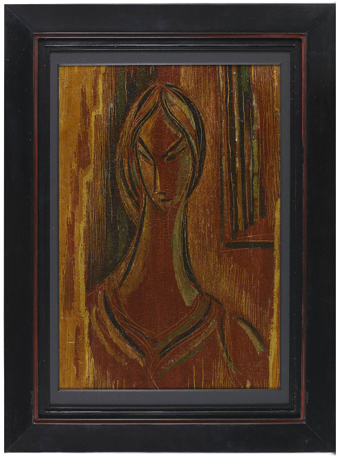 Untitled (Head of a Woman)