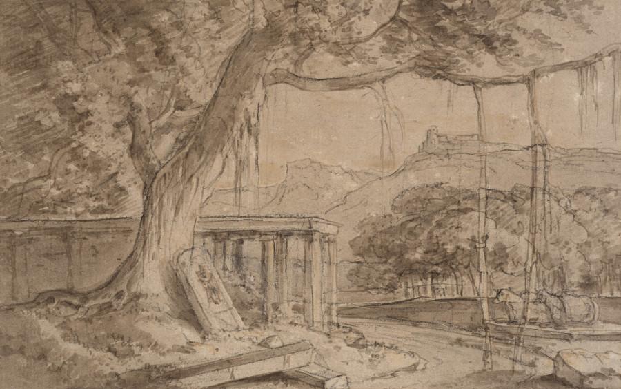William Daniell, A Ruined Temple