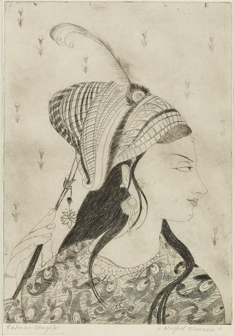 Abdur Rahman Chughtai, Mughal Princess
