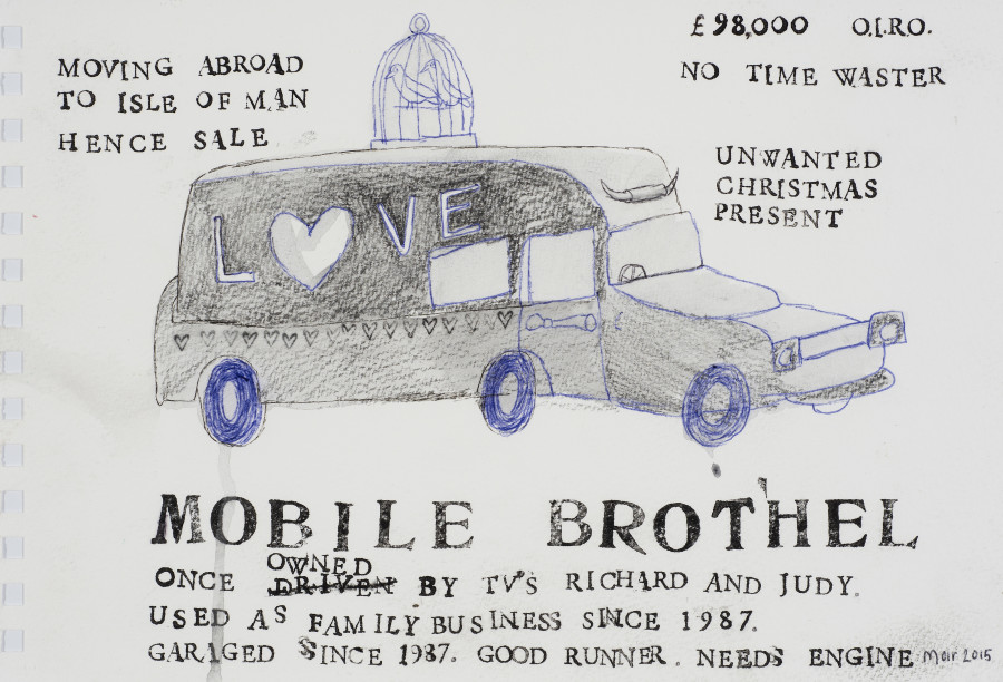 Jim Moir, Mobile Brothel, 2015