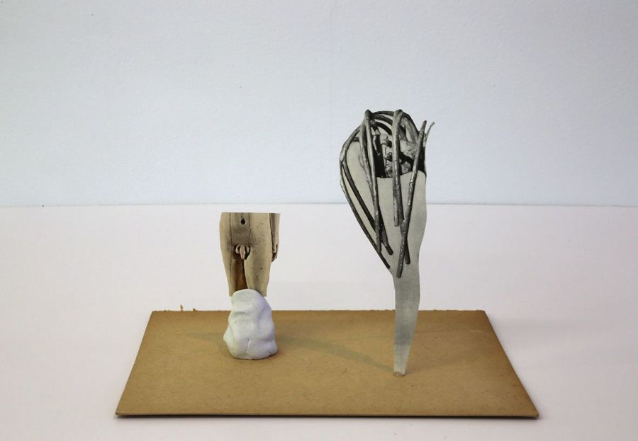 Geoffrey Farmer, Universal Sculpture Series 3, 2013