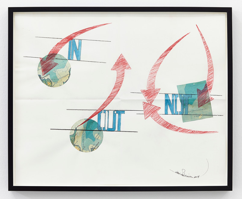 LAWRENCE WEINER, Out, 2014