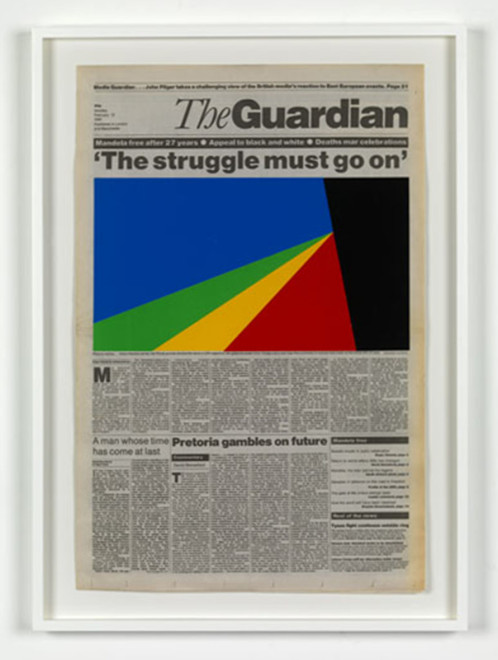 MARINE HUGONNIER, Art For Modern Architecture. Guardian Liberation of Nelson Mandela, 2010