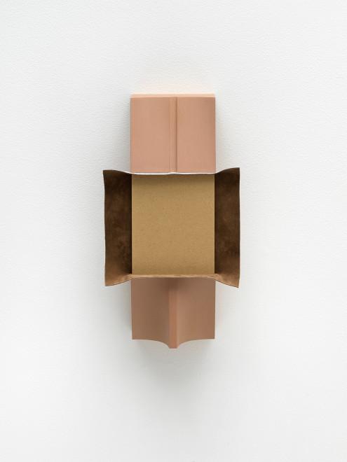 B. Ingrid Olson, Small of Back, velvet lay fold, 2018