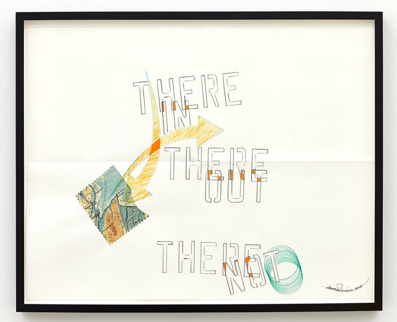 LAWRENCE WEINER, There Not, 2014
