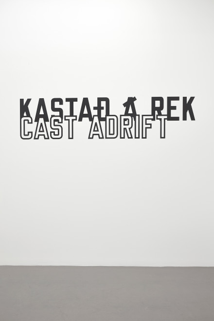 LAWRENCE WEINER, Cast Adrift, 2014