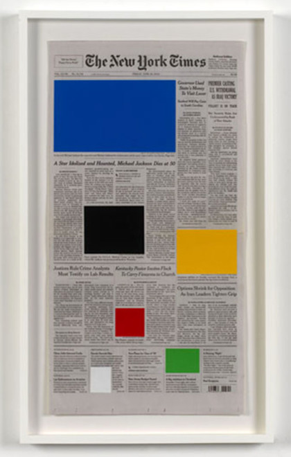 MARINE HUGONNIER, Art For Modern Architecture New York Times Michael Jackson, 2010