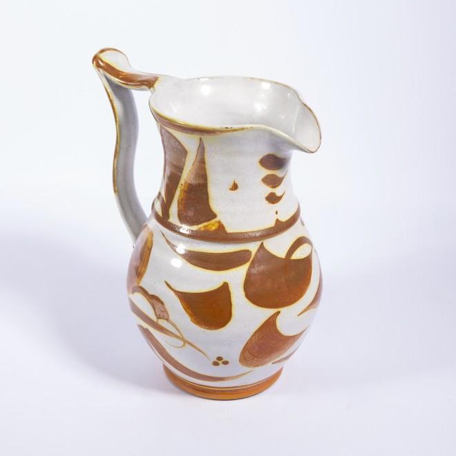 An Aldermaston Pottery jug
