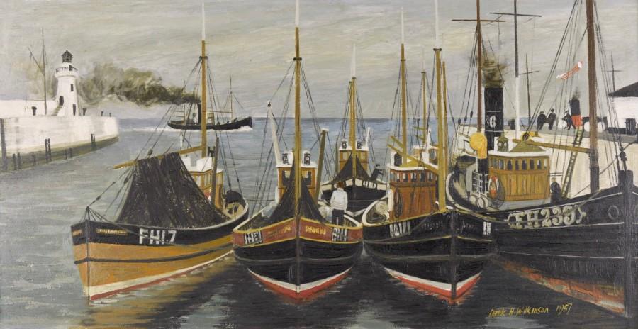 Fishing Boats (Cornish Harbour)