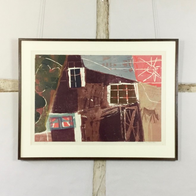 Cottage with a Horse (Sidey 109)