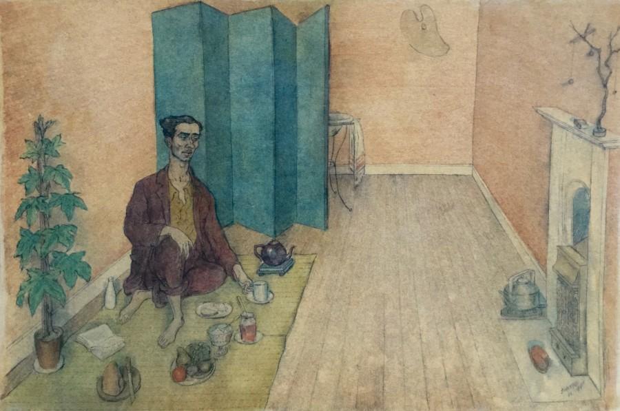 Student Life, The Artist-Orientalist Having Tea, Chelsea
