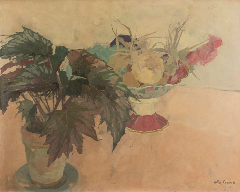 No Two II (Still life with Fruit and Plant)