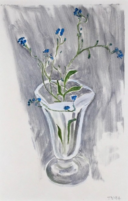 Untitled (Flowers in a Glass)