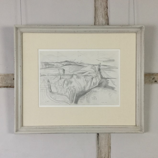Study for The Deserted Sheep Pen