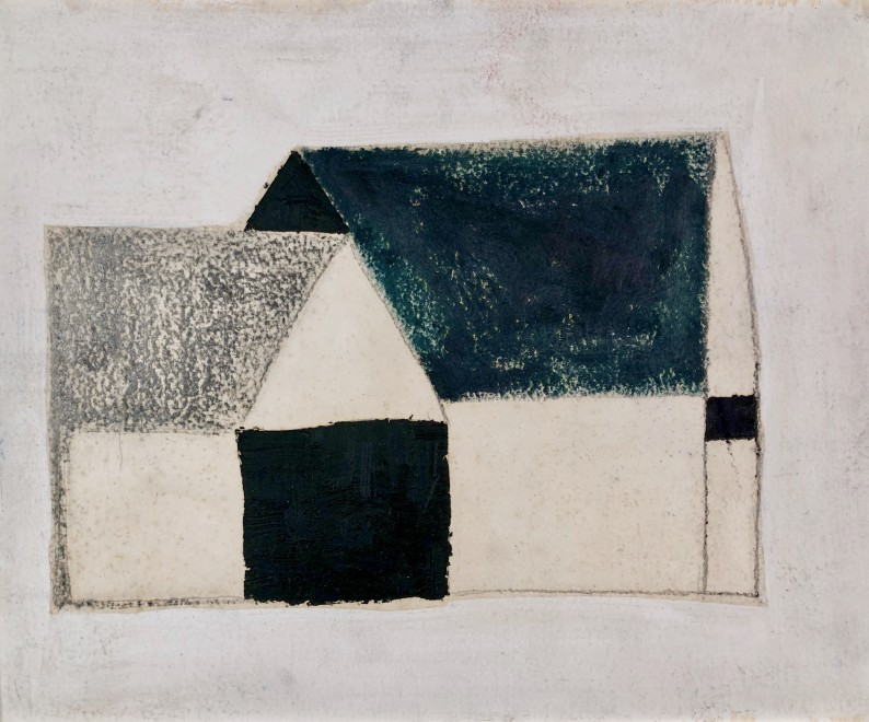 Untitled (Two Barns)