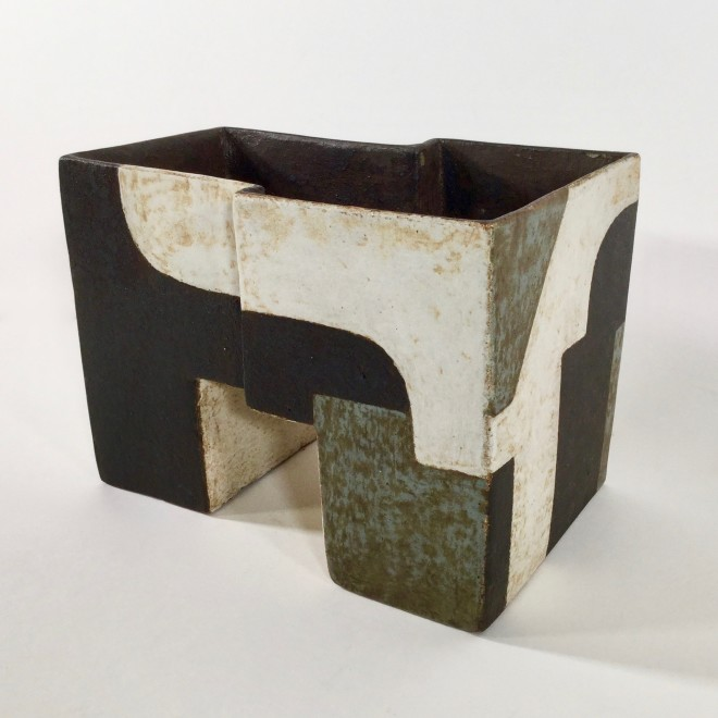 Angular vessel with abstracts I
