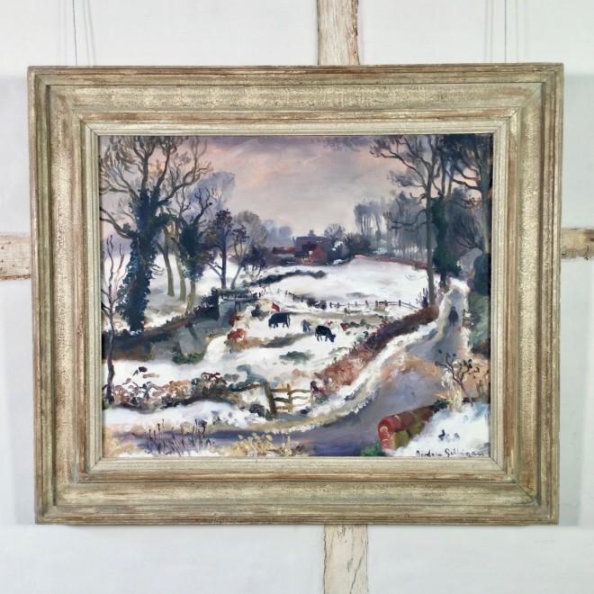 Winter Landscape (Benton End, Suffolk)