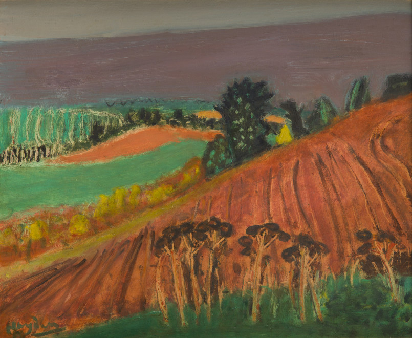 Mareuil (Les terres rouges)