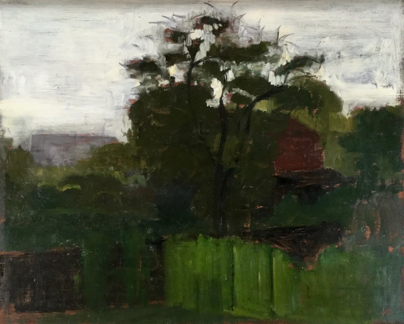 Landscape with a Red Barn