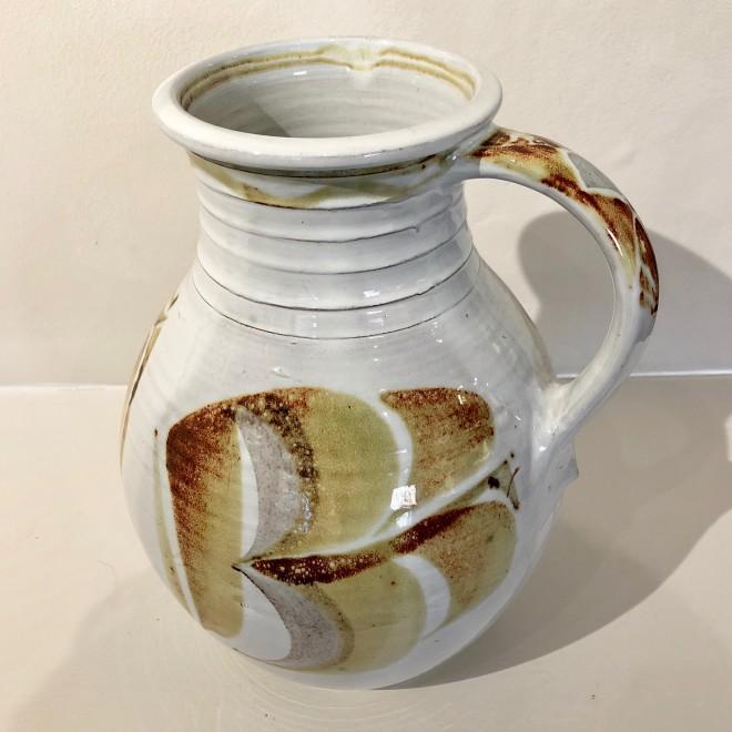 A large Aldermaston Pottery pitcher