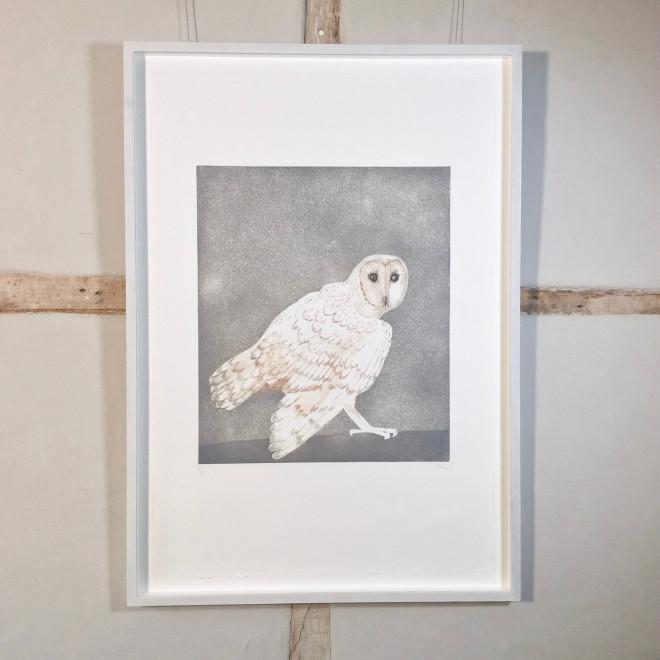 Barn Owl, from Six Owls [W 117]