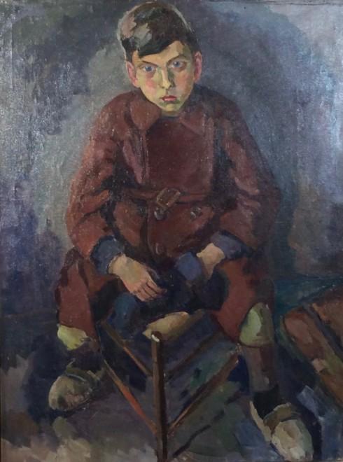 Boy, Seated
