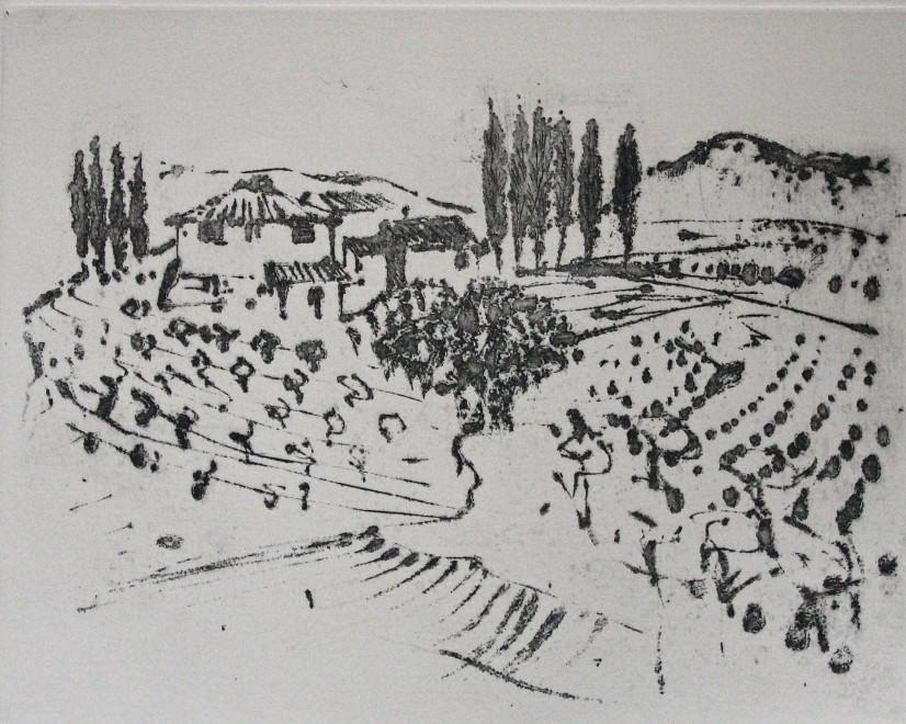 Tuscan Farm nr. Sienna